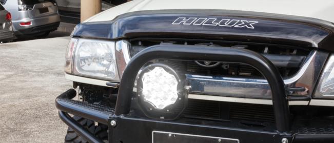 "10,000 Lumen Extreme 8"" LED Driving Light - Combo Beam"